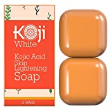 Say Goodbye to Freckles, Sun Spots and Skin Discoloration with the #1 Kojic Acid Face Lightening Soap by Koji White!              Are you struggling with unsightly pimple scars, freckles and hyperpigmentation?       Have you a...