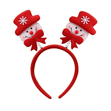 Image Unavailable. Image not available for. Color  Connoworld Christmas  Hair Band ... 0d564d8ba72
