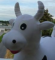 Soytisch - Animal saltarín hinchable, diseño de vaca: Amazon.es ...