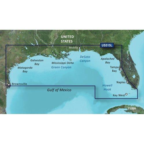 Brownsville Key (Garmin VUS515L Brownsville-Key Largo SD Card Nautical Charts)