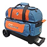 KR Strikeforce Miami Dolphins Double Roller Bowling Bag, Multicolor For Sale