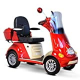 4-Wheel Scooter in Red