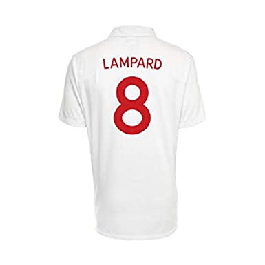 74b717c49 Amazon.com  Umbro LAMPARD  8 England Home Jersey World Cup 2010 (50 ...