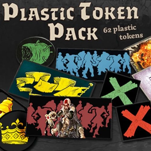 Token Plastic (Zombicide: Black Plague Plastic Token Pack Board Game)
