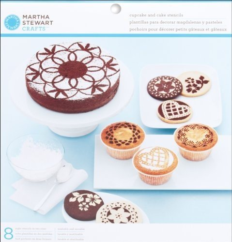 Martha Stewart Crafts Doily Lace Cake and Cupcake Stencils image