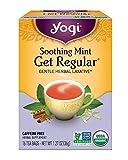 Yogi Healing Formula Organic Tea, Soothing Mint Get Regular 16 ea (pack of 6)