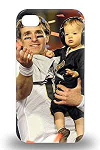 Top Quality Protection NFL New Orleans Saints Drew Brees #9 3D PC Case Cover For Iphone 4/4s ( Custom Picture iPhone 6, iPhone 6 PLUS, iPhone 5, iPhone 5S, iPhone 5C, iPhone 4, iPhone 4S,Galaxy S6,Galaxy S5,Galaxy S4,Galaxy S3,Note 3,iPad Mini-Mini 2,iPad Air )