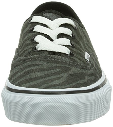 Vans U Authentic (Suede) Zebra/T - Zapatillas de deporte Unisex adulto, Negro (Zebra/True White), 35 EU (5.5 Erwachsene UK)