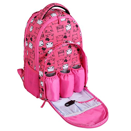 lalawow-diaper-backpack-multifunctional-pretty-baby-diaper-nappy-bag-backpack-mummy-bag-with-insulat