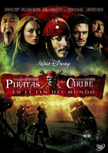 Piratas Del Caribe: En El Fin Del Mundo Import Movie European ...