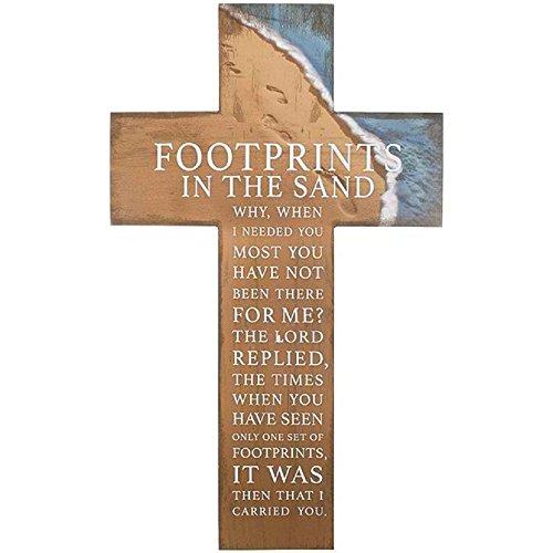 Carson Prayer Cross-Footprints ()