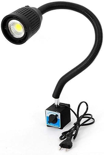 Lathe Lamp Cnc 220v Machine Lamp Magnetic Led Work Light Led Tool Machine Lamp With Flexible Light Arm Adjustable Magnetic Base Amazon Co Uk Lighting