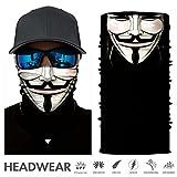 TEFITI Stretchable Face Shield Motorcycle Mask Sun UV Guards Balaclava Headwear (HR04782)