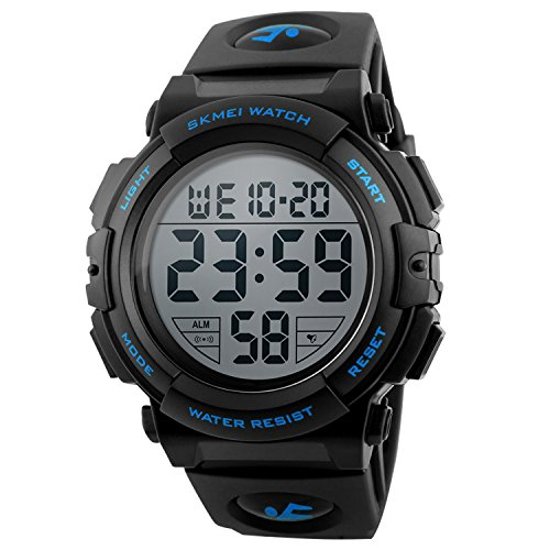 Outdoor Military Silicone Waterproof Chronograph