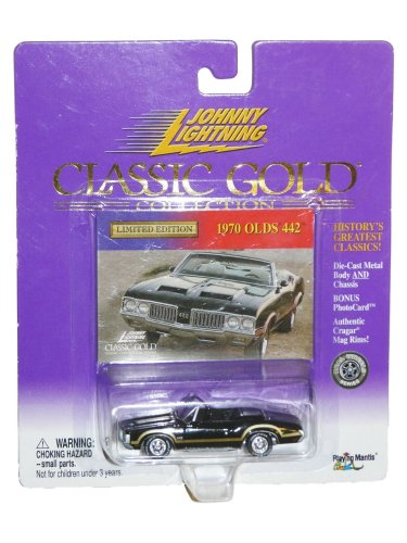 - Johnny Lightning 1970 Olds 442 Classic Gold Collection