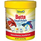 TetraBetta Floating Mini Pellets for Bettas, 1.02 oz