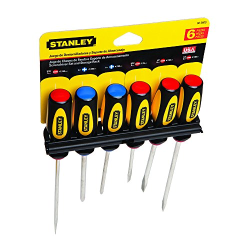 Stanley 60-060 Standard Fluted Screwdriver Set 6-Piece