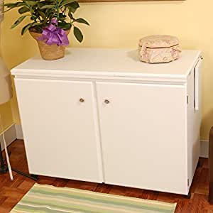 Arrow Cabinet 98701 Bertha Sewing Cabinet, White