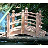 4 ft. Curved Double Rail Span Bridge (Curved Double Rail Sealed w Lights)