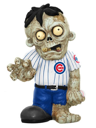 MLB Chicago Cubs Resin Zombie Figurine, Blue