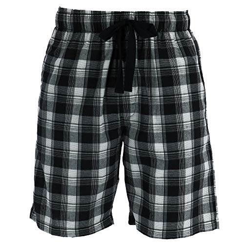 Fruit of the Loom Men's Microsanded Woven Sleep Short, Blue Medium]()