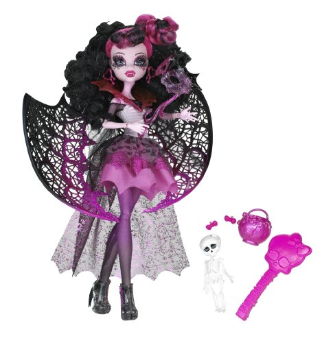 [Monster High Ghouls Rule Draculaura Doll] (Monster High Draculaura Ghouls Rule Costume)