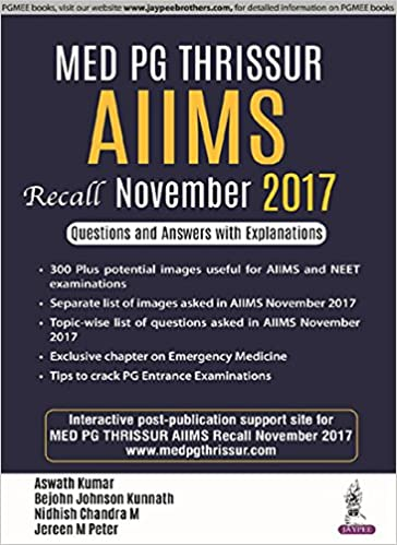 Buy MED PG Thrissur AIIMS Recall November 2017 Questions and Answers Aiims Application Form Doents on