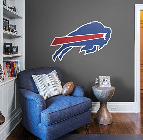 (FATHEAD NFL Buffalo Bills - Logo- Officially Licensed Removable Wall Decal, Multicolor, Giant)