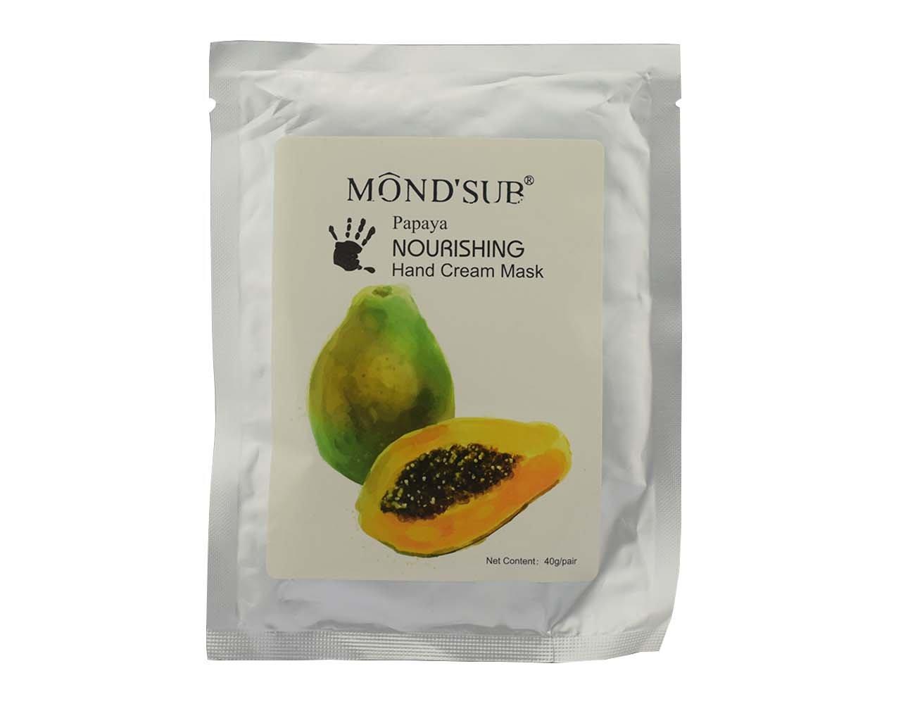Cuidado de la mano mascarilla crema 5 piezas A caja seis opciones de aroma Elitzia ETNH4002 (Papaya): Amazon.es: Belleza