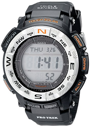 Casio PRG260 1 Pro Trek Watch Black