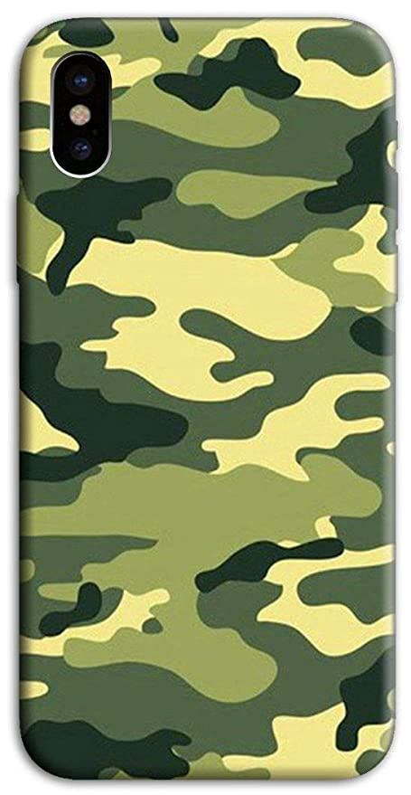 COVER APPLE IPHONE 6/6S MIMETICA Militare Morbida Custodia