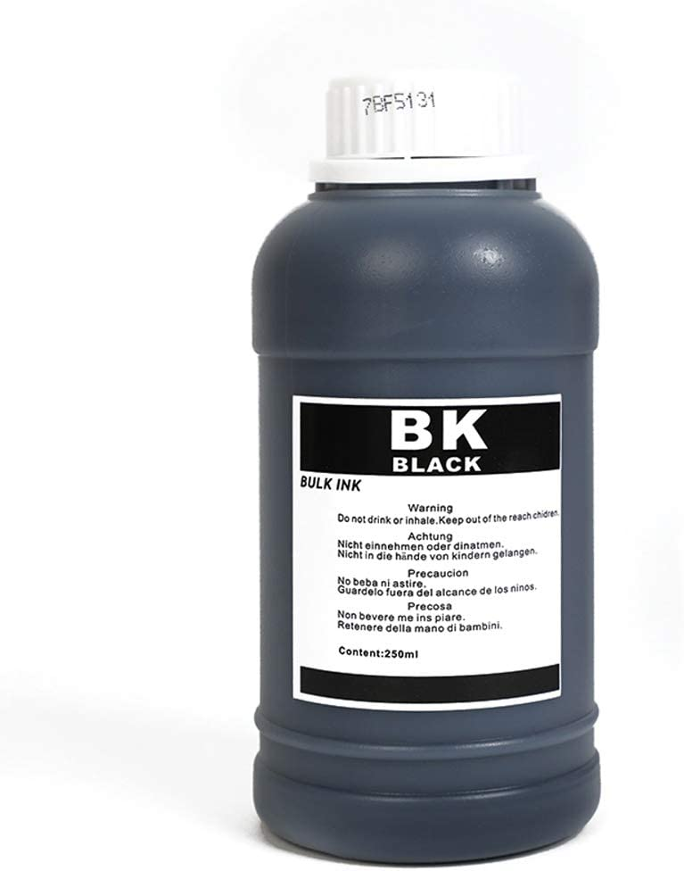 befon Universal Ink Kit Refill for HP Canon Broher Epson Printer (Black)
