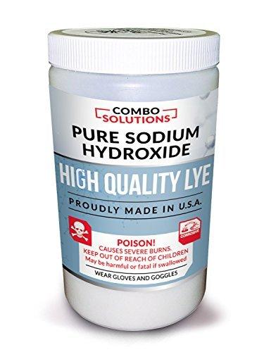 Combo Solutions Lye, 2 Pounds