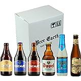 高級ベルギービール飲み比べ6本 正規輸入品【シメイ、デュベル、デリリュウム、ドンゲルローブロンド他】 専用ギフトボックスでお届け