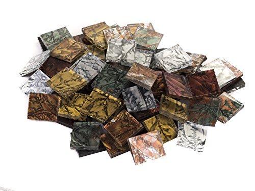 Van Gogh Glass Mosaic Tile - 3/4