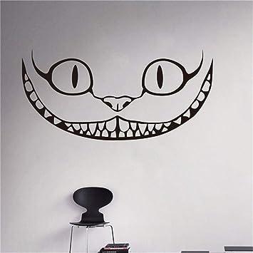 Gato de Cheshire Tatuajes de pared Cita Alicia en el País de las ...
