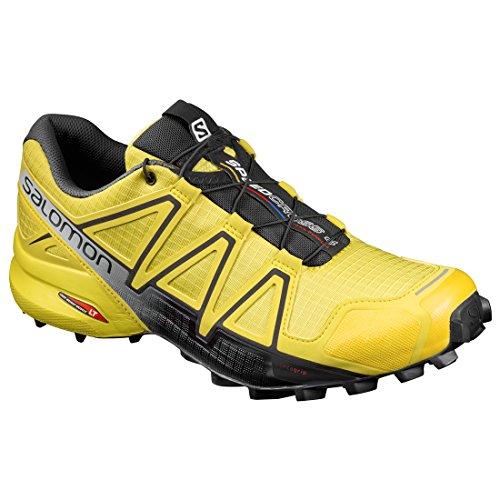 Salomon Tenis Hombre Trail Running Speedcross 4 Amarillo Talla 25.5