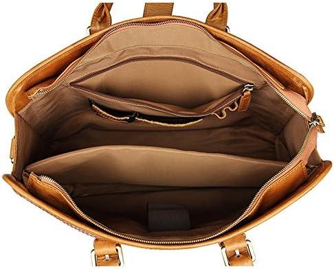 """Zhanghanzong-apparel Top-Grifftaschen für Damen Für Männer Frauen Reise Arbeit Messenger Bags 15""""Laptop Schulter Handtasche Für Frauen School Holiday College"""