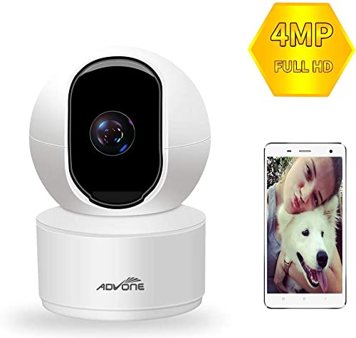 Indoor Security Camera 4MP 2560P Wireless Pet Camera ADVONE WiFi Camera Baby Monitor IP Camera with Cloud Storage Night Vision Two Way Audio Remote Viewing
