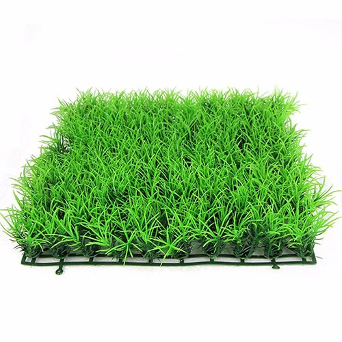 (wsloftyGYd Artificial Water Aquatic Green Grass Plant Lawn Aquarium Fish Tank Landscape Fish Tank Simulation fine Pine Needles Lawn)
