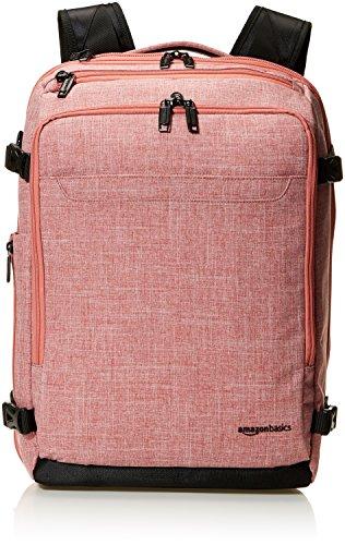AmazonBasics Slim Carry On Laptop Travel Weekender Backpack - Salmon from AmazonBasics