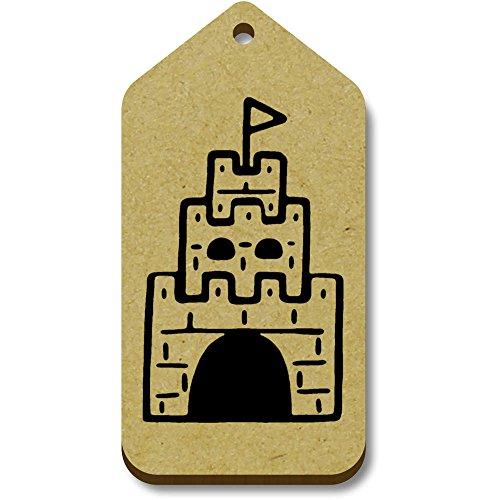 equipaje 'castillo' 10 Azeeda tg00066409 34mm Regalo 66mm X Etiquetas PSWqO
