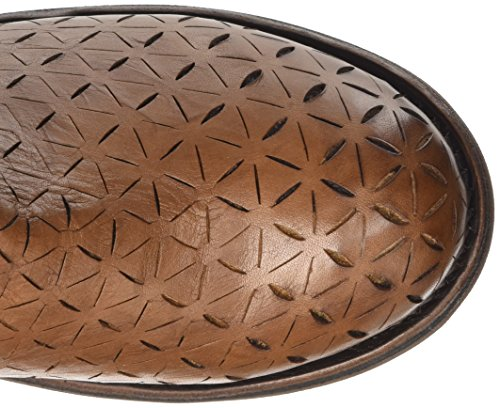 Cognac Sandalias Effect Plataforma M Origami Beige Boot 255 W con Bikkembergs para Leather Vintage Mujer YCqT67