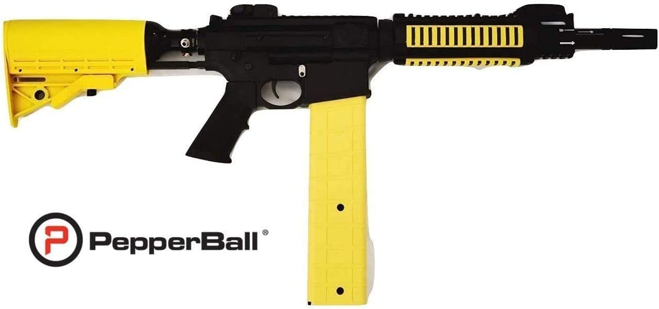 PepperBall VKS Launcher, Powerful Non-Lethal Self-Defense, for Security, Home, Business
