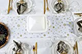 Hotrun 2-in-1 Decorative Table Runner and Protective Trivet Your Elegant Table Runner and Heat-Resistant Trivet All in One (Spark)