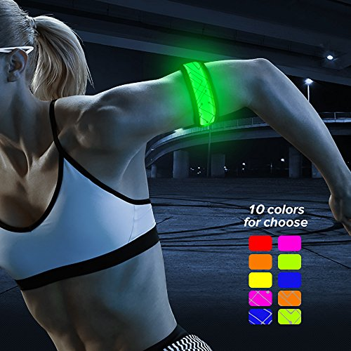 BSeen (TM), LED Slap Band, Glow bracelet, armband Glow in the dark (Good Costumes For Two People)