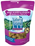 Natural Balance L.I.T. Limited Ingredient Dog Treats, Grain Free, Sweet Potato & Venison Formula, 14-Ounce