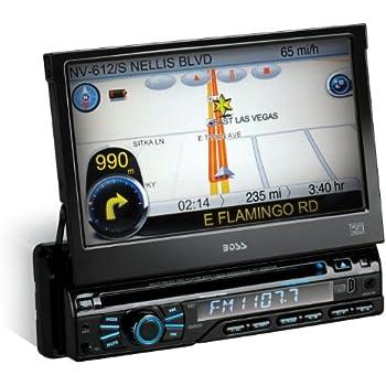 amazon com boss audio bv9973 single din 7 inch motorized rh amazon com Trans Wiring Diagrams Manual 1999 Mercedes Mercedes Mercedes E-Class Wiring Diagram Symbols