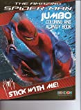 The Amazing Spider-Man Jumbo Coloring & Activity Book ~ Stick with Me!