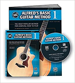 By Alfred Publishing Staff Alfred's Basic Guitar Method, Bk 1 (Book, DVD & Enhanced CD) (Alfred's Basic Guitar Library) (Pap/DVD/Co)